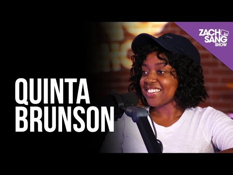 Quinta Brunson talks Up for Adoption, Buzzfeed and Jason Nash