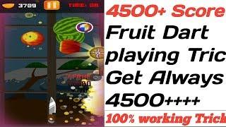 MPL Fruit Dart Playing Trick Get Score 4000-5000  100%.✓✓✓ हमेशा बनेगा 4000 से जादा स्कोर.