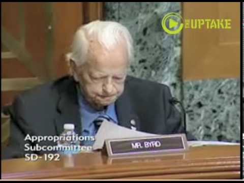 Sen Byrd Frail, Fiery In Final Days: Dies At 92