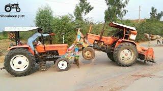 Tractor Accident Fiat 480 VS Fiat 480 | Dangerous Accident