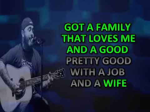 LOST AND LONELY AARON LEWIS KARAOKE