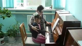 Открытый урок преподавателя фортепиано И.В. Новиковой