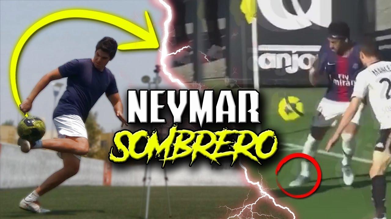 Aprende El Regate Más Fácil Y Efectivo De Neymar Jr Neymar Sombrero Neymar Skills Tutorial Youtube