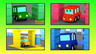 Cartoon Cars - CAR WASH PAINTBALL - Cars Cartoons for Children - Childrens Animation Videos for kids thumbnail
