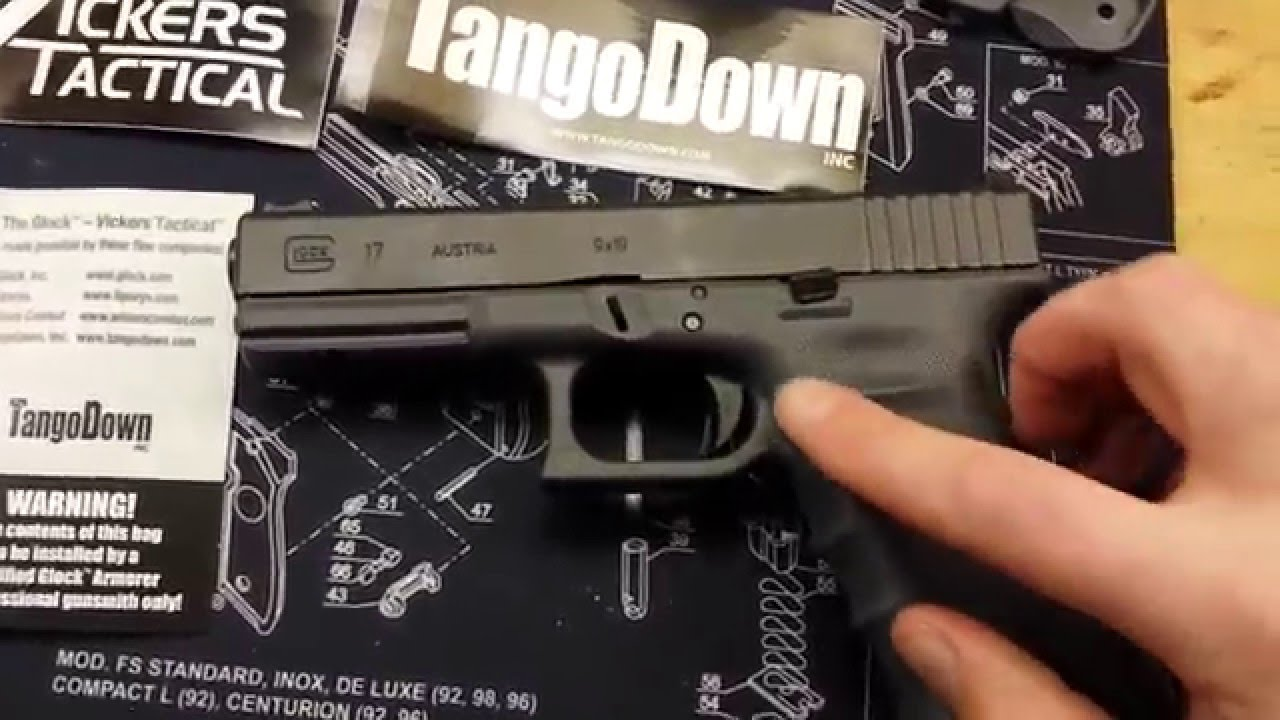 Vickers gray Glock 17 w/ TD parts installed review