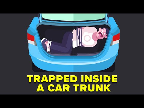 Trapped Inside a Car Trunk - How to Escape