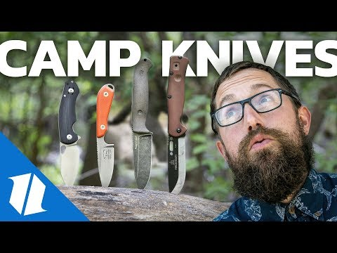 Best Camping Knives?  | Knife Banter Ep. 57