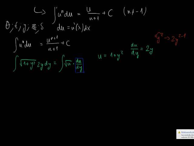 A határozatlan integrál és a helyettesítési szabály 1