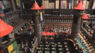 l3336 Playmobil middle ages-red roof square tower castles 3666 3367
