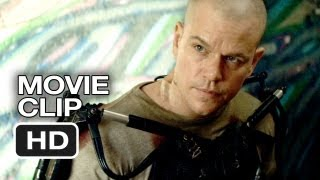 Elysium Movie CLIP - He's Awake (2013) - Matt Damon Sci-Fi Movie HD