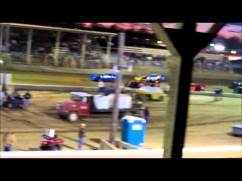 Belle Clair Speedway Sportsman Heat #2  4 1 2011