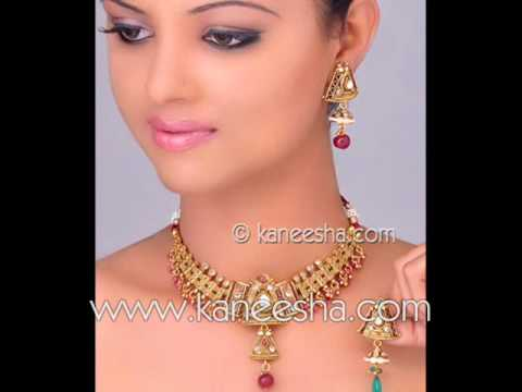 Indian Gold Fashion Jewelry, Bridal Gold Jewelry
