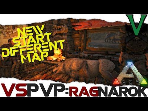 A New Start On The New Map! | VsPVP: Ragnarok! | ARK: Survival Evolved | S2:EP3