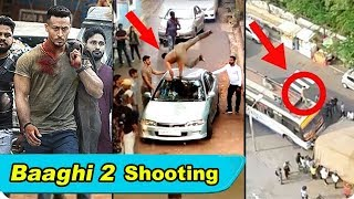 Tiger Shroff's Baaghi 2 Movie Stunt Shooting Video LEAKED