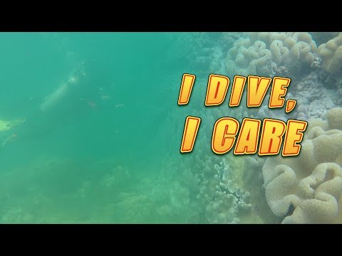 "MhaExplorer: First Scuba Diving Experience ""I DIVE, I CARE""."