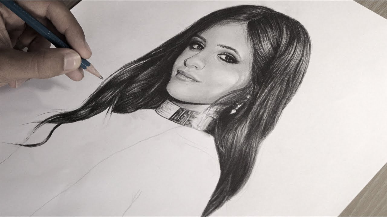 Drawing Camila Cabello Fifth Harmony 5h By Guilherme