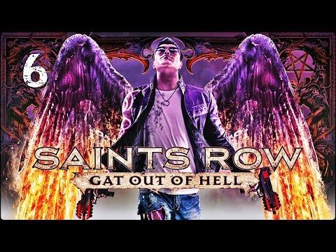 Прохождение Saints Row: Gat Out Of Hell (XBOX360) — Часть 6: Король ада / Финал