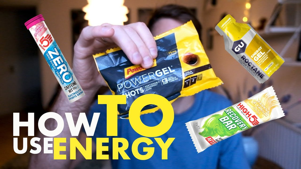 Energi til den lang træningstur