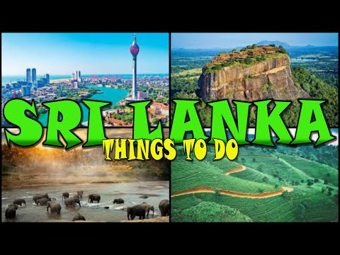 SRI LANKA ATTRACTIONS (4K)