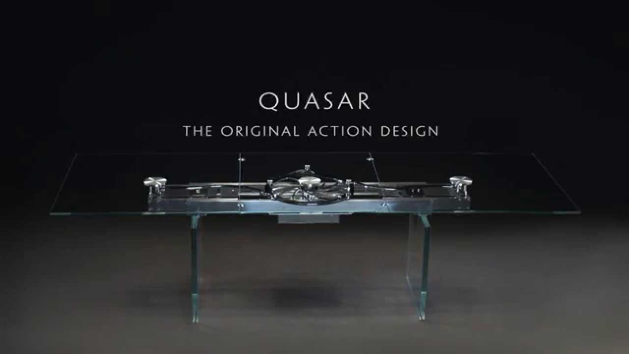 Quasar Extendable Dining Table By Naos Youtube