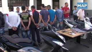 تفكيك شبكات متخصصة في السرقة بالشارع العام بالدار البيضاء ولاية الأمن