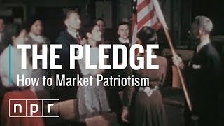 The Pledge of Allegiance Was Written to Sell Magazines | Let's Talk | NPR
