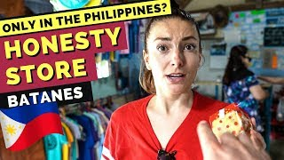 HONESTY STORE BATANES Philippines - the ONLY SHOP WITHOUT STAFF that works??