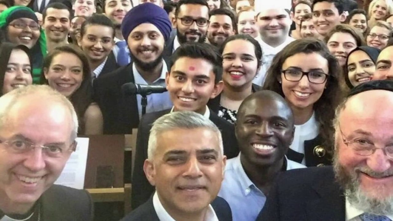 Sadiq Khan, London's first Muslim mayor, on connecting