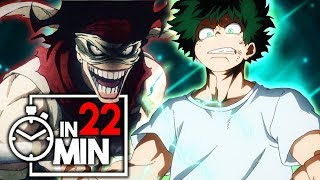 MY HERO ACADEMIA 'STAFFEL 2' IN 22 MINUTEN