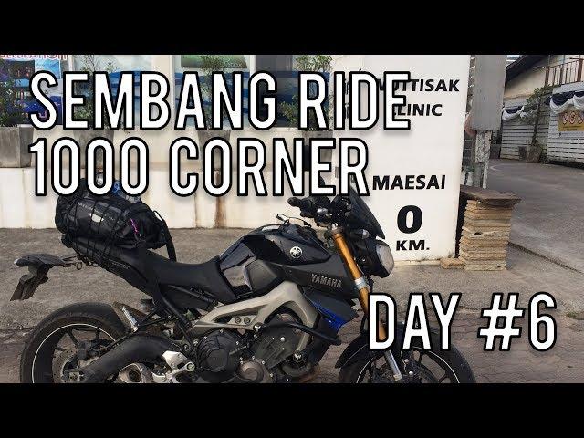#37: Diari Kembara : Ride 1000 Corner Day 6  ||  Motovlog Malaysia