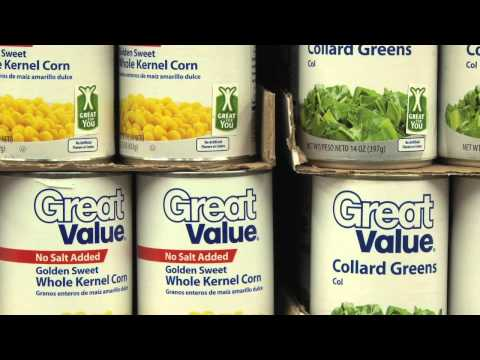 Video News Release - Walmart Announces 'Great For You' food labeling initiative