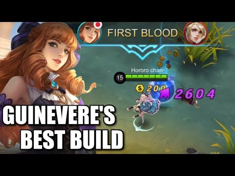 GUINEVERE'S BEST BUILD? HERE IT IS!