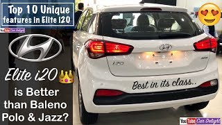 Top 10 Unique Features Of Elite i20 2018 | Top Reasons To Buy New i20 2018 Over Rivals