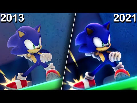 What If Sonic Lost World Got a Remaster |