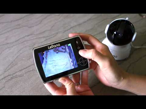 levana keera baby video monitor review youtube. Black Bedroom Furniture Sets. Home Design Ideas