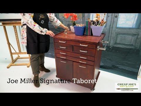 Cheap Joe's 2 Minute Art Tip - Joe Miller Signature Taboret