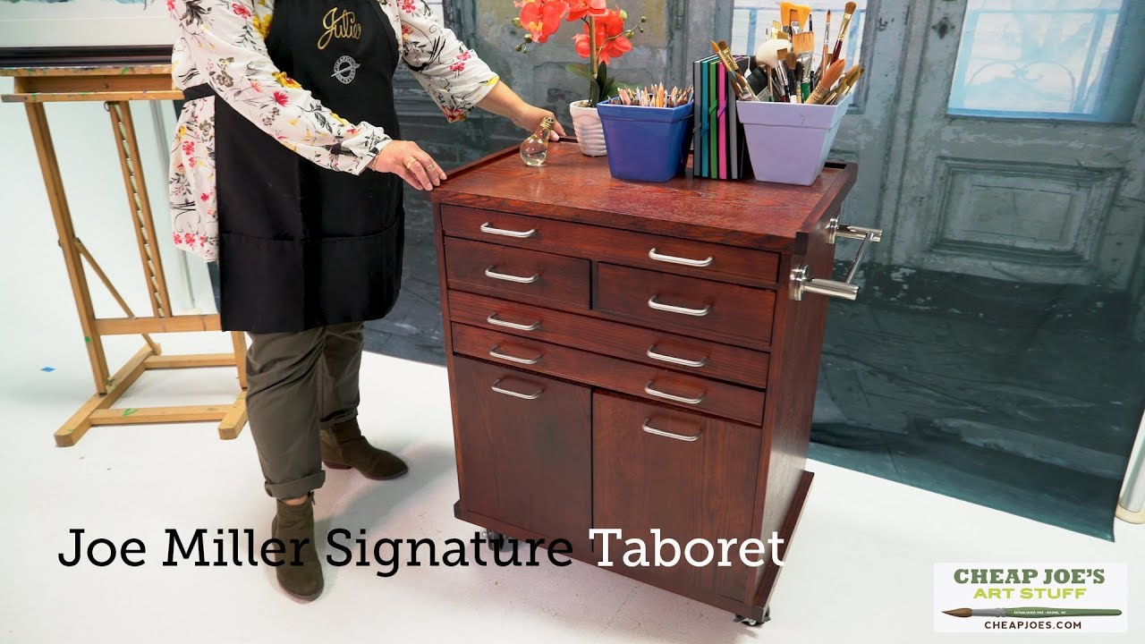 Joe S 2 Minute Art Tip Miller Signature Taboret