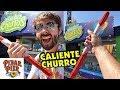Señor Buzz Churros! Caliente Churro! Pixar Pier Food!