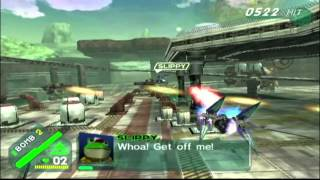 Starfox Assault Gold Walkthrough Part 1 - A New Enemy
