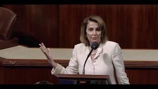 Nancy Pelosi & Paul Ryan Speak on Steve Scalise of alexandria virginia baseball practice 6/14/2017