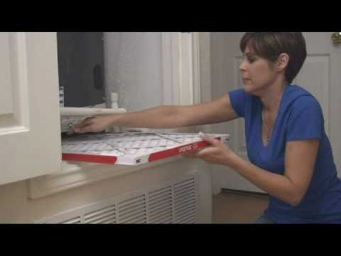 How To Change Your Furnace Air Filter Youtube