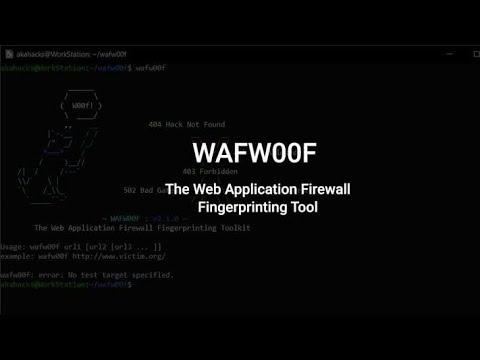 Web Application Fingerprinting