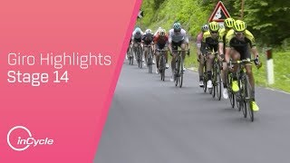 Giro d\'Italia 2018 | Stage 14 Highlights | inCycle