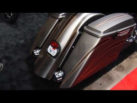 Ness - Tank Extension, Deep Cut Line, &  Bags From J&P Cycles @ V-Twin Expo