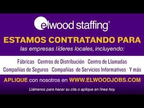 Encontrar trabajo rápidamente a través de Elwood Staffing