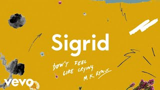Sigrid - Don't Feel Like Crying (MK Remix / Visualiser)