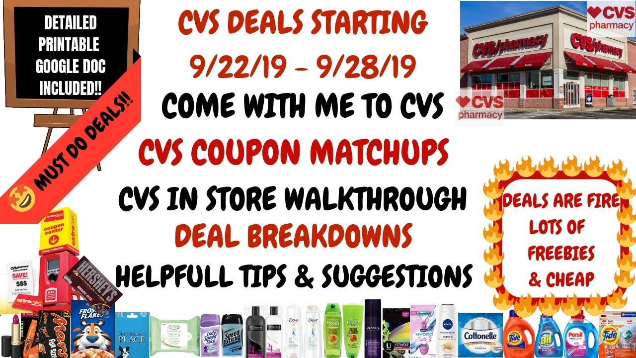 coupon matchups at cvs