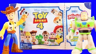 Toy Story 4 Series 1 Minis ! Buzz Lightyear To The Rescue ! Toy Story Toys