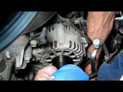2011-16 Hyundai Elantra Drive Belt Replacement
