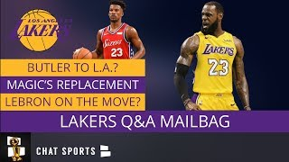 Lakers Rumors Mailbag: Questions On LeBron's Power, Free Agent Targets, Trade Rumors (PART 2)